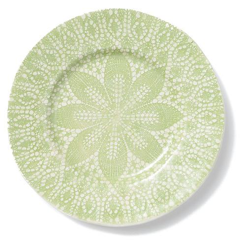 Lace Dinner Plate, Pistachio