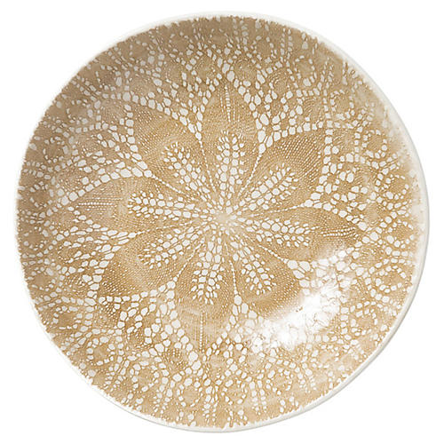 Lace Pasta Bowl, Natural