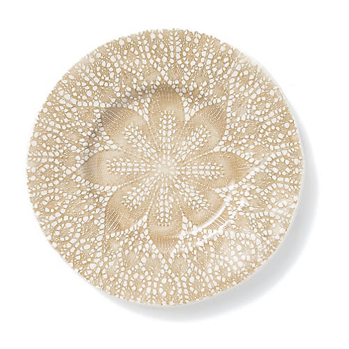 Lace Salad Plate, Natural