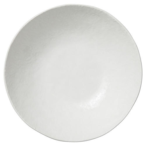 Lace Medium Serving Bowl, White
