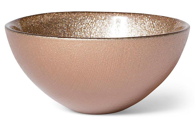 Glitter bowl ginger vietri brands one kings lane for Glitter bowl