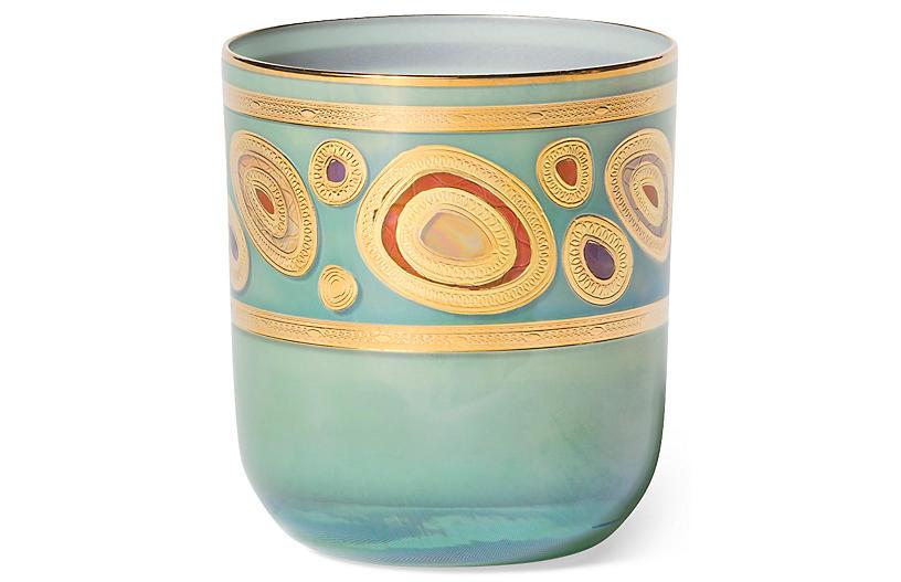 Regalia DOF Glass, Aqua/Multi