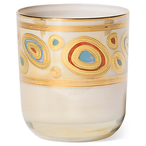 Regalia DOF Glass, Cream/Multi