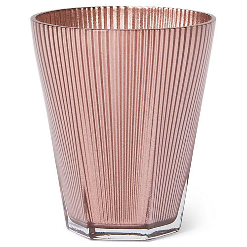 S/4 Accordion Tumblers, Copper