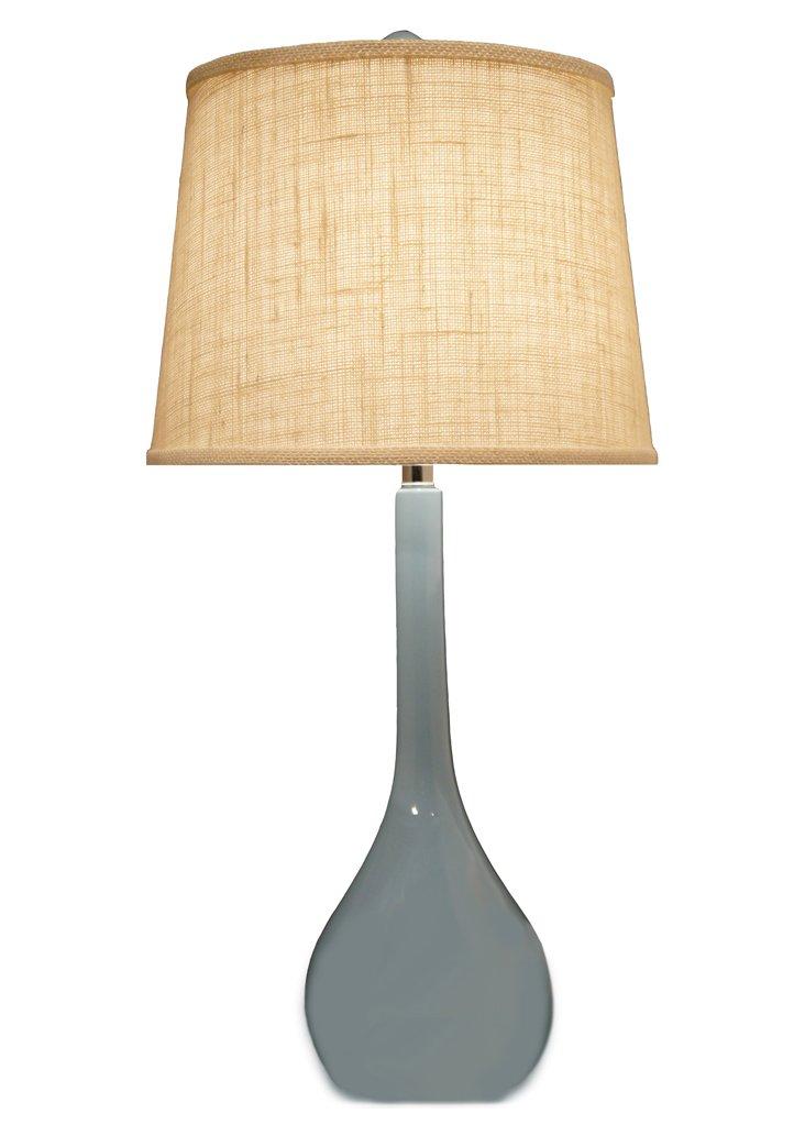 Banyan Table Lamp, Calm Blue