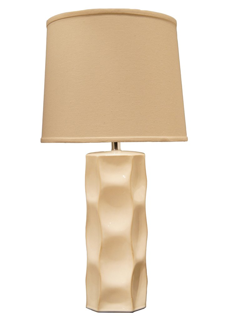 Echo Table Lamp, Off-White