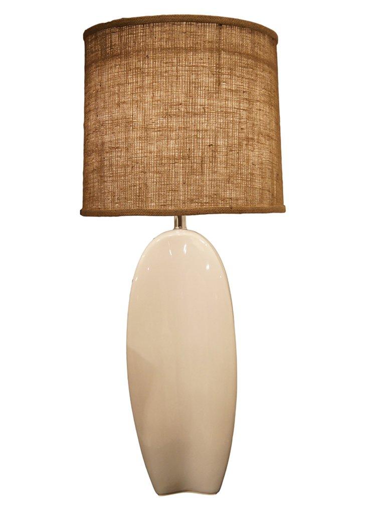 Palma Table Lamp, White