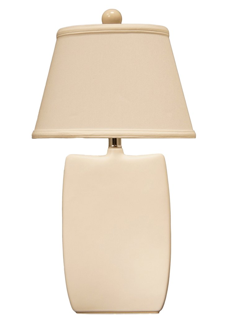 One's Way Table Lamp, White