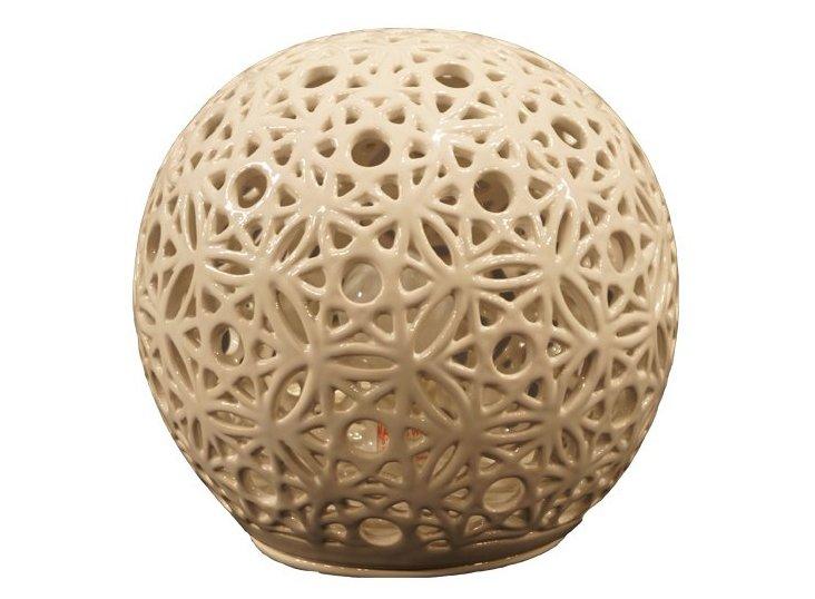 Orb Table Lamp, White
