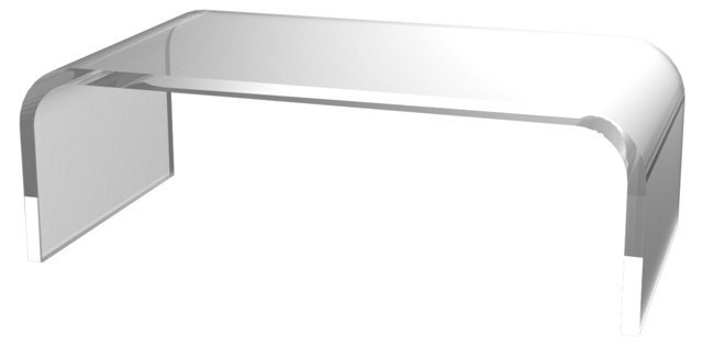 Hayden Cocktail Table, Clear