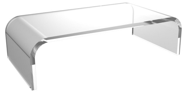 Rylee Cocktail Table, Clear