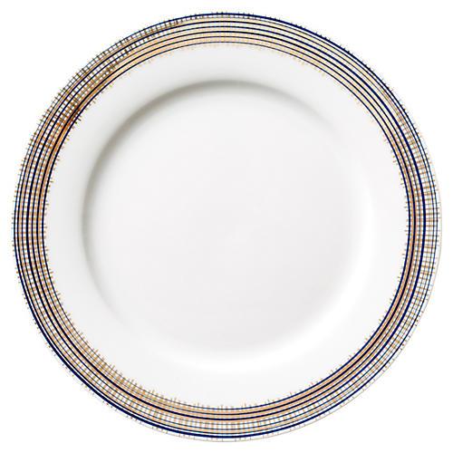 S/4 Cross-Hatch Salad Plates