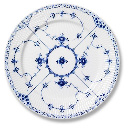 Half Lace Dessert/Salad Plate, Blue