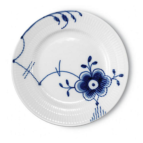 Mega Bread & Butter Plate, Blue