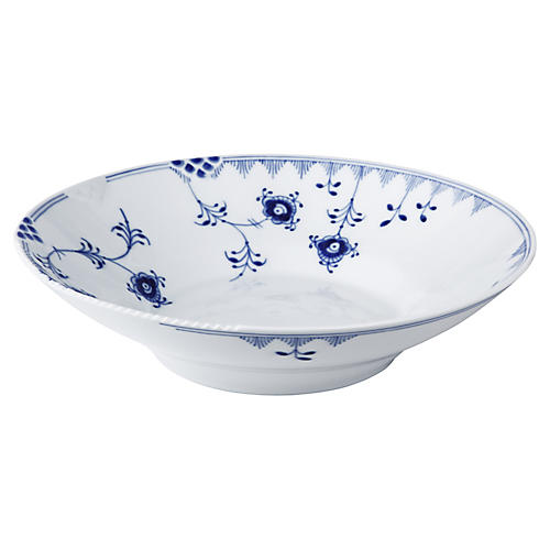 Elements Bowl, Blue/White