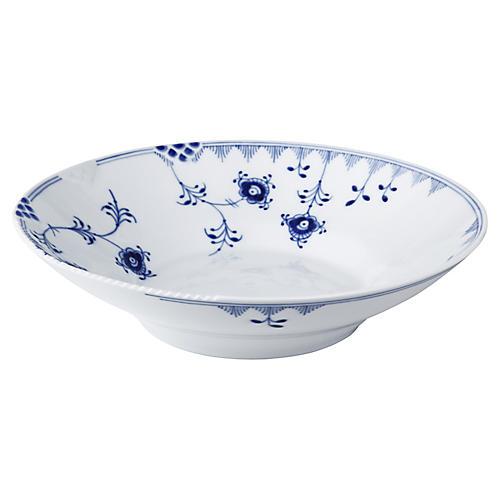 Elements Bowl, Blue/White