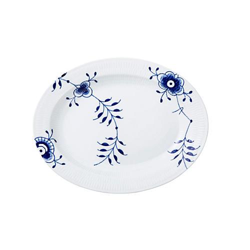 Blue Mega Oval Platter, Large
