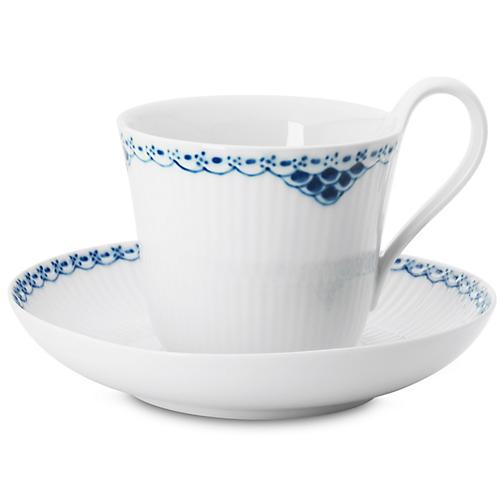 Princess High Handle Cup & Saucer
