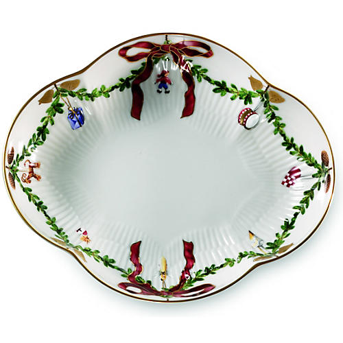 Star Fluted Accent Dish