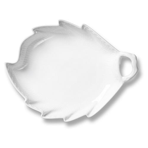 White Half Lace Accent Dish