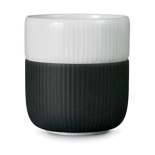 Contrast Mug, Anthracite