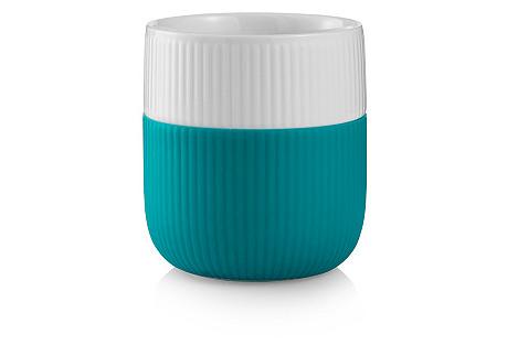 Contrast Mug, Turquoise