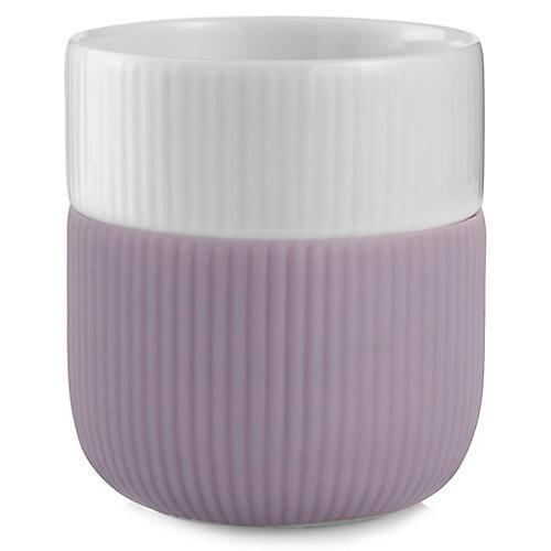 Contrast Mug, Lilac/White