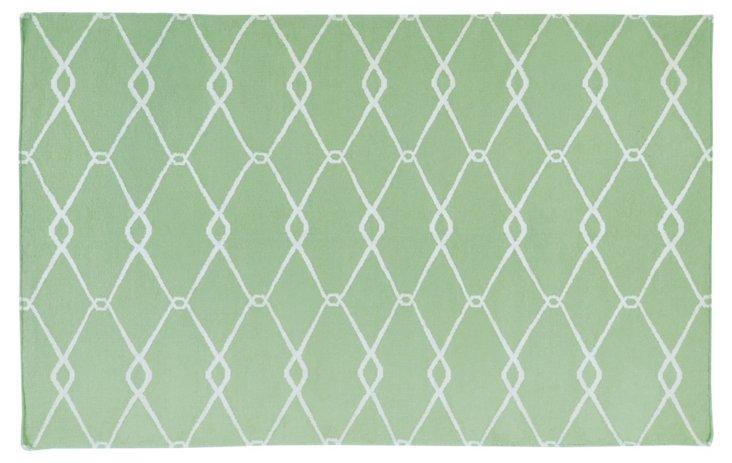 Orion Flat-Weave Rug, Sage