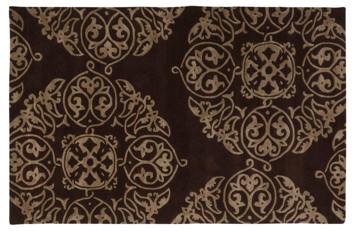 Moderne Rug, Brown