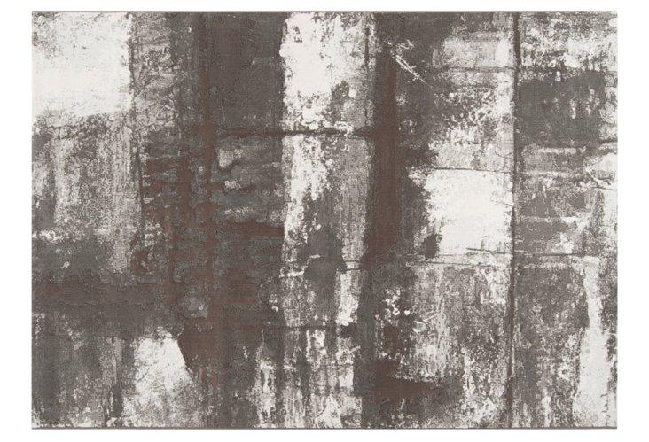 Contempo Rug, Gray/Brown/White