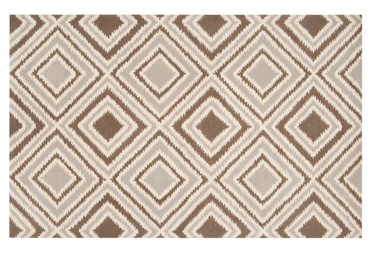 2'x3' Parker Rug, Taupe