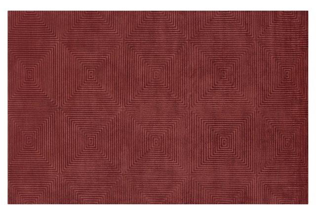 Fremont Rug, Cranberry