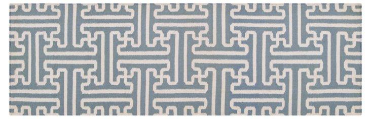 Archive Rug, Slate Gray/Ivory