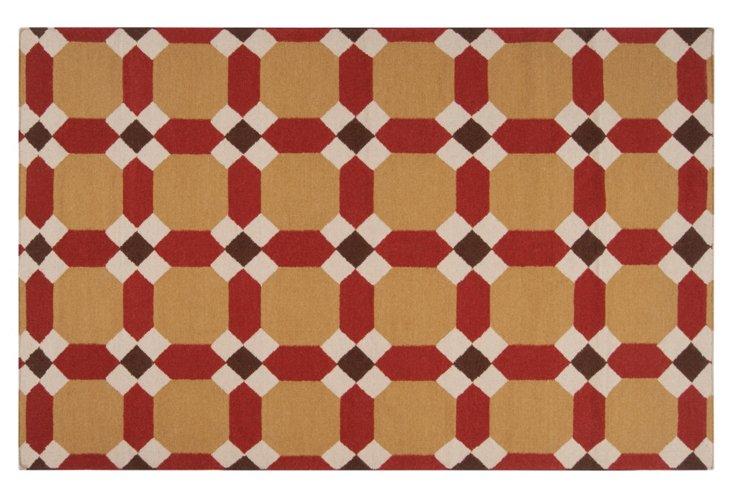 Landover Flat-Weave Rug, Cumin