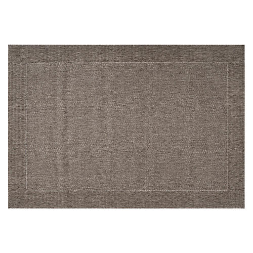 Penny Outdoor Rug, Charcoal