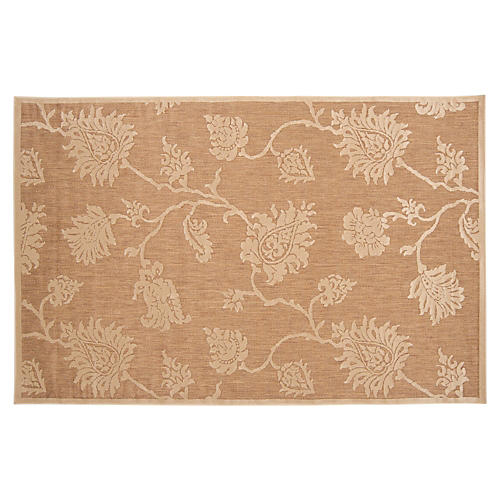 Micah Outdoor Rug, Brown Sugar