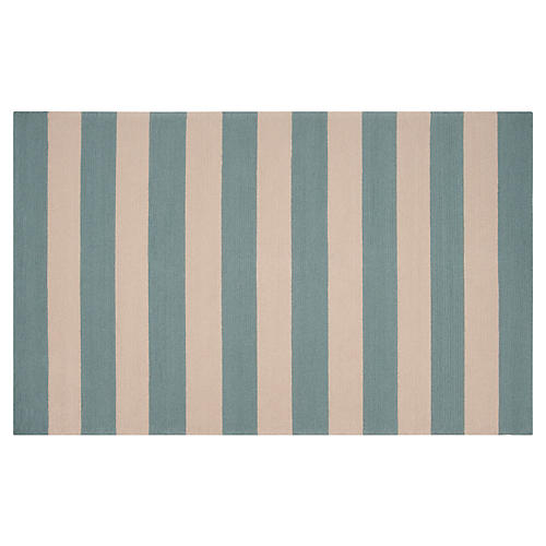 Hermie Outdoor Rug, Sea