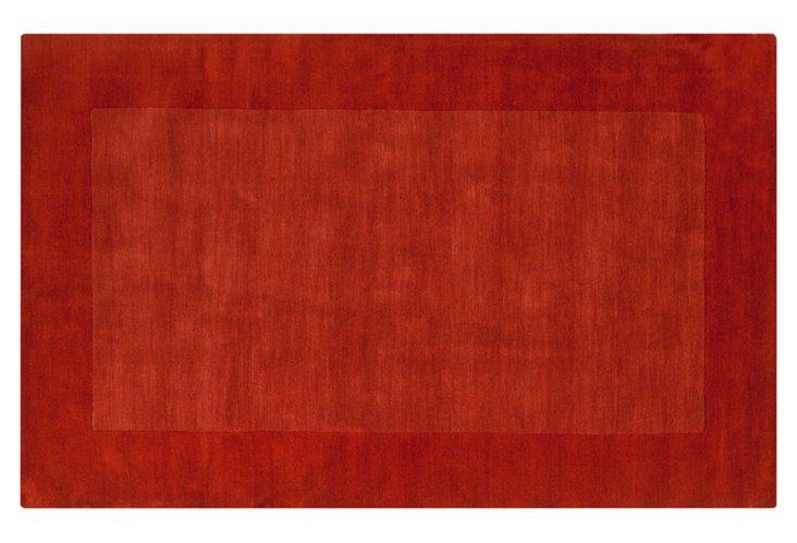 Lombard Rug, Terracotta