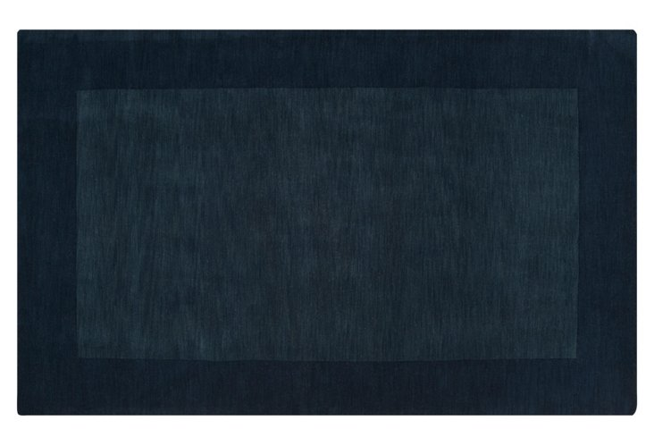 Lombard Rug, Midnight Blue