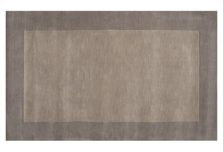 Lombard Rug, Elephant Gray