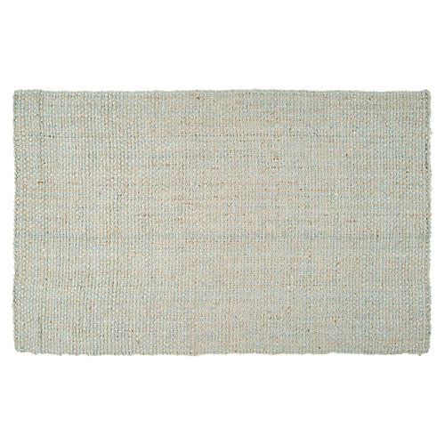 Woven Jute Rug, Oyster