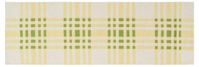 Bria Flat-Weave Rug, Pear