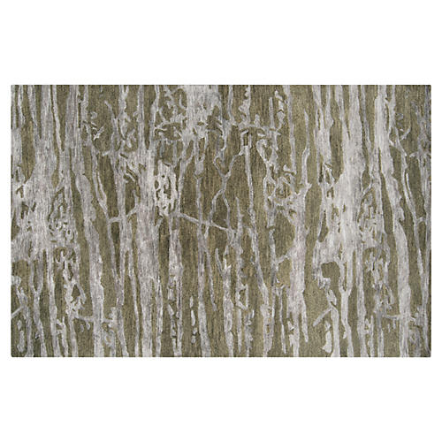 Laurie Rug, Green/Gray