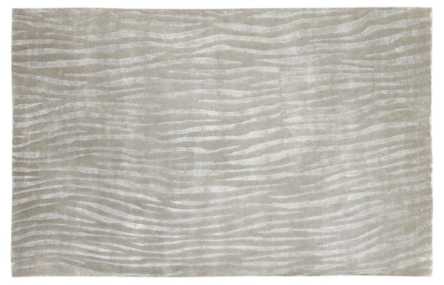 Slade Rug, Taupe/Silver