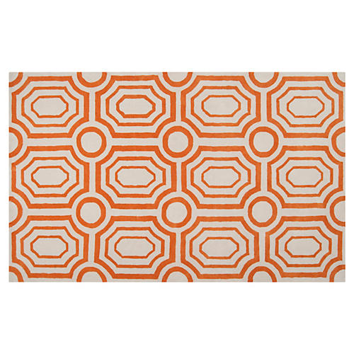 Undertow Rug, Golden Ochre
