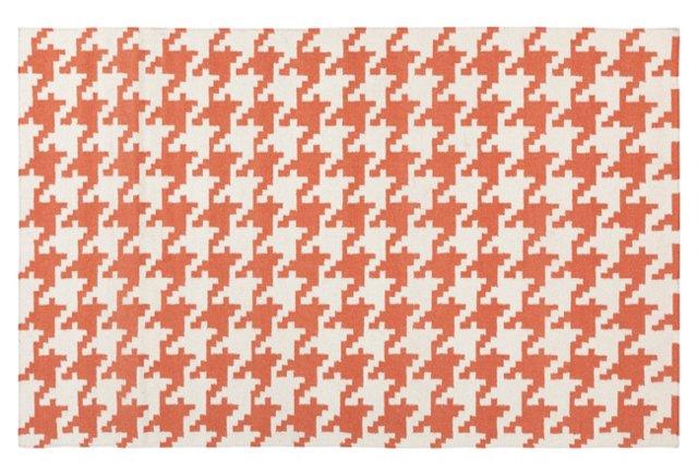 Dunne Flat-Weave Rug, Paprika