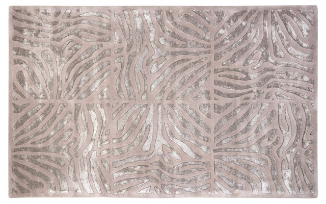Ares Rug, Taupe/Silver