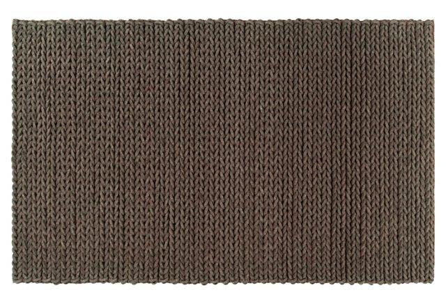 Wright Braided Rug, Mocha