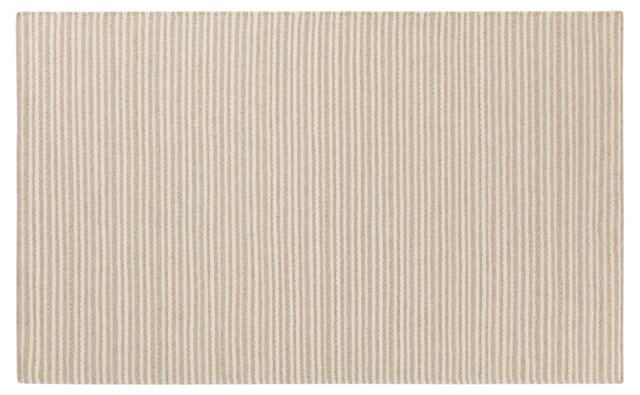 Dione Flat-Weave Rug, Parchment