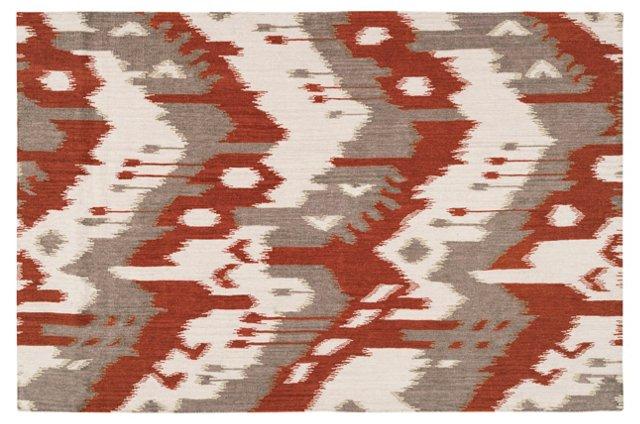 Sam Flat-Weave Rug, Adobe